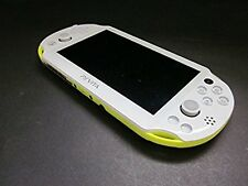 PlayStation PS Vita Wi-Fi Console Lime green / white PCH-2000ZA13 from Japan FS