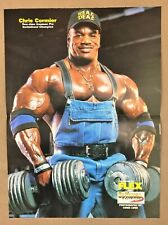 CHRIS CORMIER / JENNY WORTH BODYBUILDING MUSCLE COLOR POSTER