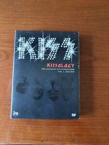 Kiss, Kissology Vol. I, 2 DVD-Box, guter Zustand