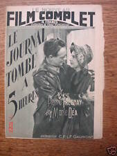 """Film Complet """"Le journal tombe à 5 heures"""" P. Fresnay"""