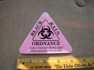 Black Rain Ordnance Decal Sticker