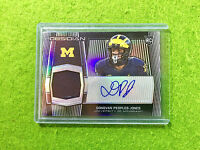 DONOVAN PEOPLES JONES AUTO PRIZM ROOKIE JERSEY CARD #/99 AUTOGRAPH 2020 Obsidian