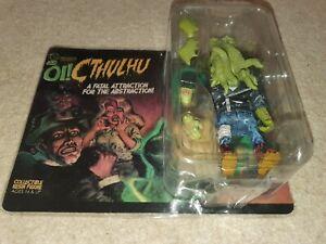 Mighty Jaxx Oi! Cthulhu Daniel Yu Resin Action Figure. Designer action figure