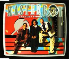 MASTERBOY - Anybody (Movin' on) 6TR CDM 1995 EURODANCE