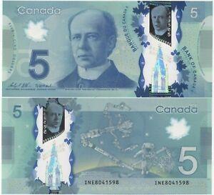 "Canada 5 Dollars 2013 (2020) GEM UNC ""INE"" Wilkins-Macklem"