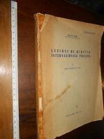 LIBRO:- LEZIONI DI DIRITTO INTERNAZIONALE PRIVATO 1955 QUADRI