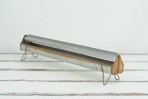 """VTG Primitive Galvanized Metal Bar 36"""" Chicken Feeder Trough Tray Planter CT6"""