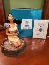 WDCC Figurine 453054726 MIB Pocahontas Listen With Your Heart