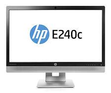 "HP EliteDisplay E240c 23.8"" FHD IPS Monitor 1080p HD Webcam Speaker Mic USB"