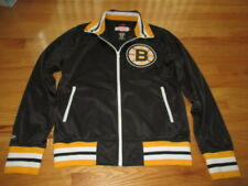 Vintage Collection Mitchell & Ness BOSTON BRUINS Zippered (MED) Warm-Up Jacket