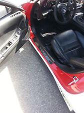 Carbon Fiber Door Sill Step Panel Fit For Mazda RX7 FD3S Door Sill Trim Cover