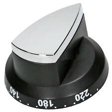 RANGEMASTER 90 90DF 110 110 DF ELAN Range Oven Hob Switch Knob Silver / Black