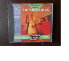 CD 25 SUPER OLDIES - VOL. 3 TOO GOOD TO BE FORGOTTEN - LEER DESCRIPCIÓN (1I)