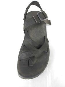 Chaco Black Sandals flip flop Shoes 9 Adjustable Strap Casual Outdoor  Men's