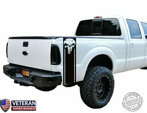 Distressed Skull Vinyl Decal Set Fits: Dodge Ram Ford Chevy Nissan Toyota