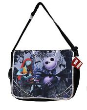 Brand New Disney Tim Burton's the Nightmare Before Christmas Large Messenger Bag