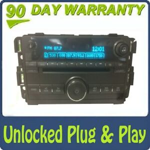 UNLOCKED 2006 - 2010 Buick Lucernce OEM AM FM 6 CD Radio Receiver