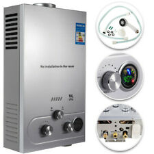 18L 5GPM Hot Water Heater Propane Gas Instant Tankless Boiler LPG w/ Shower