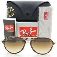 NEW Rayban Aviator sunglasses RB4298 710/51 Brown Gold Gradient AUTHENTIC 4298