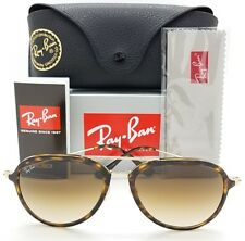 NEW Rayban sunglasses RB4298 710/51 Brown Gold Gradient AUTHENTIC 4298 Aviator