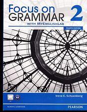 Focus on Grammar 2 - With MyEnglishLab - 4th edition - BRAND NEW