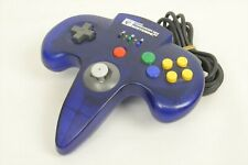 Nintendo 64 Controller Pad HORI COMMANDER N64 BLUE JAPAN Game Ref/2201