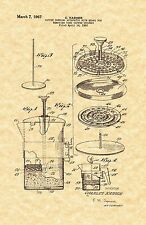 Patent Print - French Press / Coffee Maker 1967 - Ready To Be Framed!