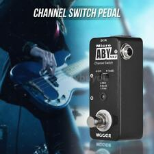 MOOER ABY MKII Channel Switch Guitar Effect Pedal True Bypass Full Metal J4Z7