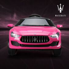 Kids Ride On Car Maserati 12V Rechargeable Battery Powered w/MP3 Remote Control
