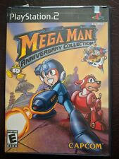 Mega Man Anniversary Collection (Sony PlayStation 2, 2004) PS2 w Case & Manual