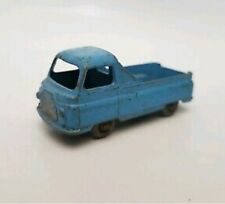 Matchbox 60a Morris J2 Pick Up light blue body grey plastic wheels GPW