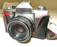 Hanimex Praktica LTL SLR Camera with Pentacon 1.8/50 lens Vintage Rare Strap