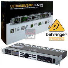 Behringer DCX2496 Ultradrive PRO Loudspeaker Management System Global 110-240 V