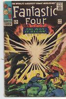 Fantastic Four 53 Marvel 1966 VG FN Black Panther 1st Klaw Jack Kirby Stan Lee
