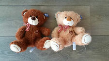 NEW With TAG Bulk 2 Twins Cute Stuffed Toy Bear from Morning Glory RRP$100