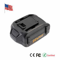 20Volt 4000mAh WA3525 WA3520 Li-Ion Battery for WORX WG163 WG151s WG155s WG251s