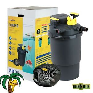 Laguna ClearFlo 3000 Complete Pump, Filter and UV Kit - For ponds up to 3000 USG