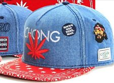 Marijuana Weed Cannabis Snapback Cheech And Chong Black Rolly Cotton Hat Cap