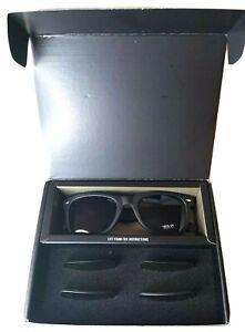unisex sunglasses with interchangeable lenses