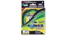 Power Pro moos green 0,56mm 75kg geflochtene Schnur grün Wallerschnur