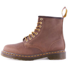Dr Martens 1460 Womens Mens Ankle Work Boots Leather Brown New Shoes Size 3 UK