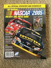 THE OFFICIAL NASCAR PREVIEW AND PRESS GUIDE - 2005 - excellent condition