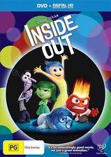 Inside Out (DVD, 2015) NEW R4 Disney Pixar