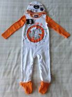 Baby Boys Star Wars BB-8 All In One Babygrow/Sleepsuit/Fancy Dress Costume 9-12m