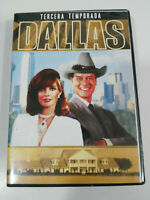 Dallas Tercera Temporada 3 Completa - 8 x DVD - Capitulos 30-54 Español English