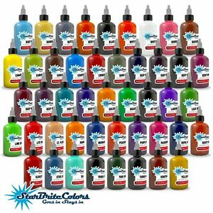 StarBrite Colors Tattoo Ink Top Seller - 1/2 oz / 1 oz Bottle USA