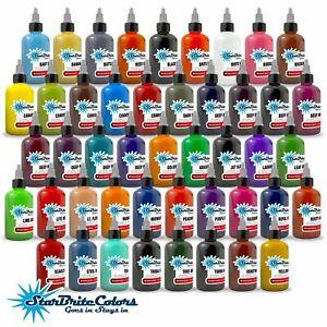 StarBrite Colors Tattoo Ink Top Seller - 1/2 oz / 1 oz Bottle USA