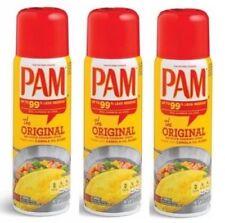 Pam Original Cooking Spray 3 Bottle Pack