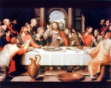 Jesus Christ The Last Supper Religious Catholic Picture Art Print (8x10)