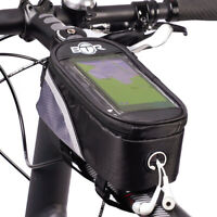 Waterproof Bike Frame Bag Bicycle Phone Holder Cycling Bags